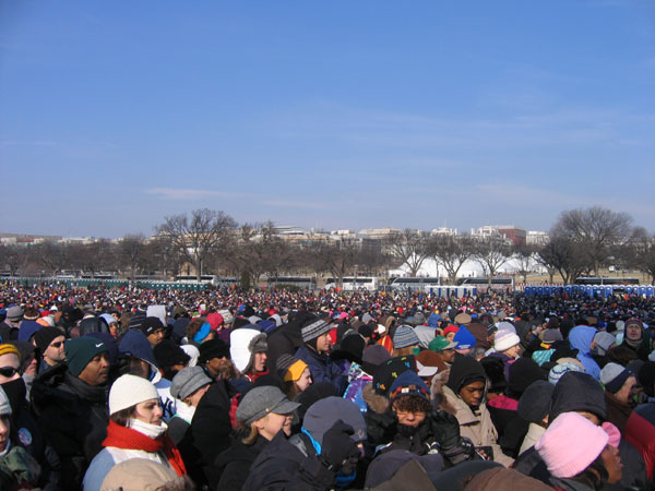 jan20th: the mall was packed
