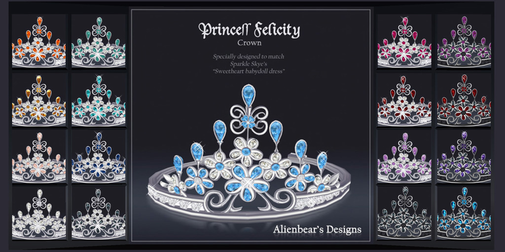 Princess Felicity crown Poster