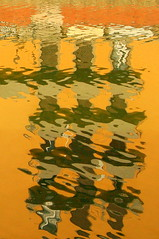 Reflections (Kathy~) Tags: italy abstract florence cw thumbsup waterreflection buildingreflection favescontestwinner herowinner ultraherowinner thepinnaclehof tphofweek125