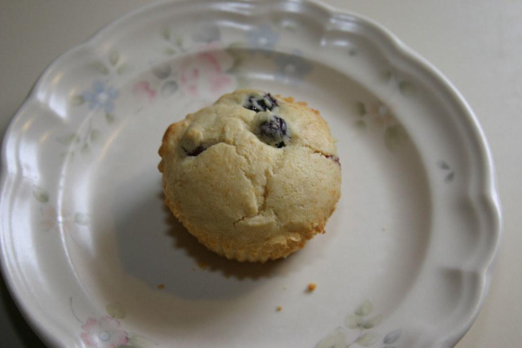 Splenda blueberry muffin