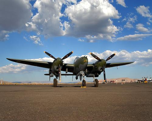 Warbird picture - P-38 Lighting Glacier Girl