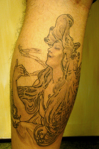 Sweet mucha tattoo. I have one too, take a look:
