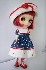 pipa 026Outfit marinheira disponivel  (apenas vestido e chapéu)