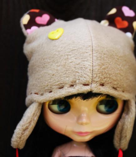 Bear hat!