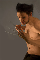 wolverine (nael.) Tags: painting photo wolverine paintover nael wolverin