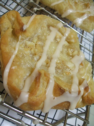 white chocolate macadamia danish