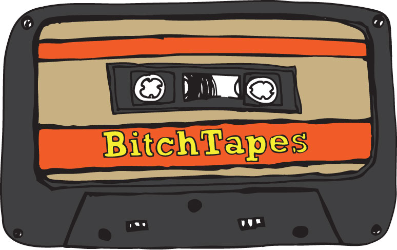 bitchTapes blog header