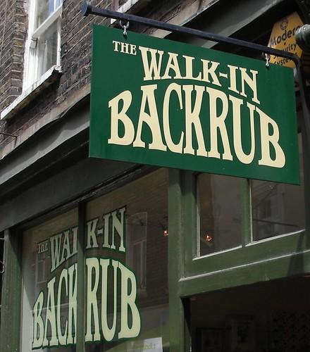 Backrub for Sale