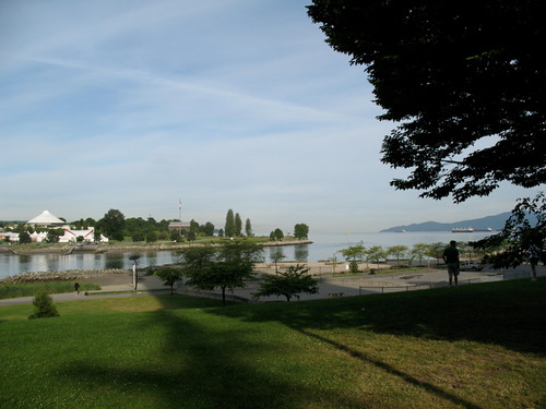 Sunset Beach and Vanier Park