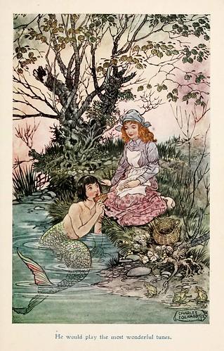 012-Charles Folkard- Jolly Calle & other Swedish fairy tales-1912-El muchacho lleno de vida