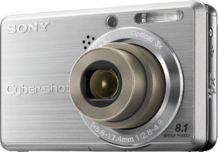 SONY S780 - 8.1 MP