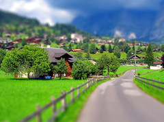 Switzerland / tilt shift (patrick.swinnea) Tags: switzerland miniature model europe village swiss fake tiltshift tiltshiftmakercom