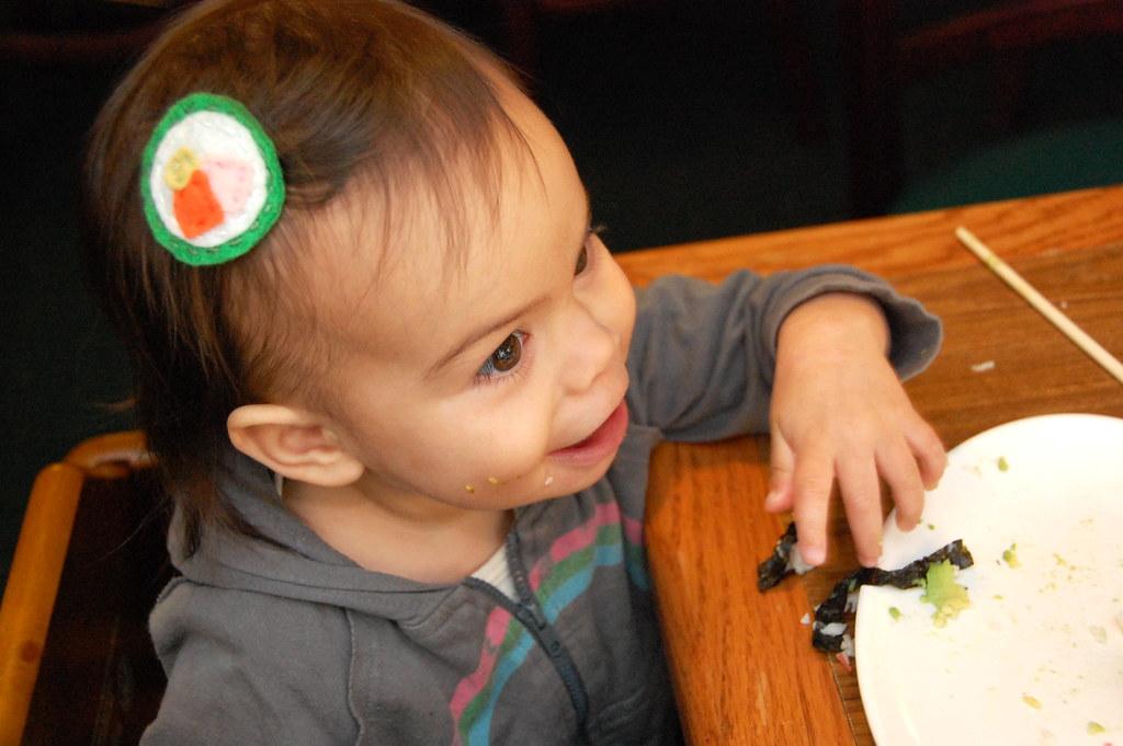 sushi... yay!