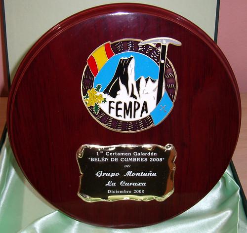 1er Premio Certamen Belen de Cumbre 2008