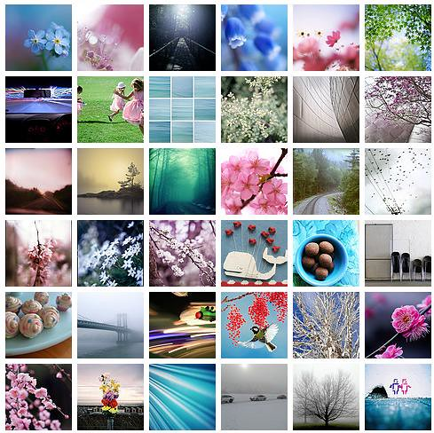 Flickr Favourites, Springtime 2009 by you.
