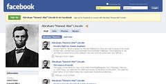 Abe Lincoln's Facebook Page