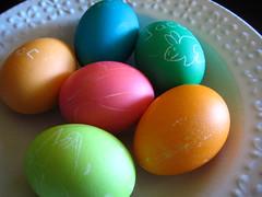 easter 09 028 (Flare) Tags: eggs dye dying hardboiled eastereggs