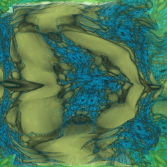 Eternal River (Andy Saxton3000) Tags: abstract reflection art collage digital river psp fractal xaos pageplus andysaxton meshwarp