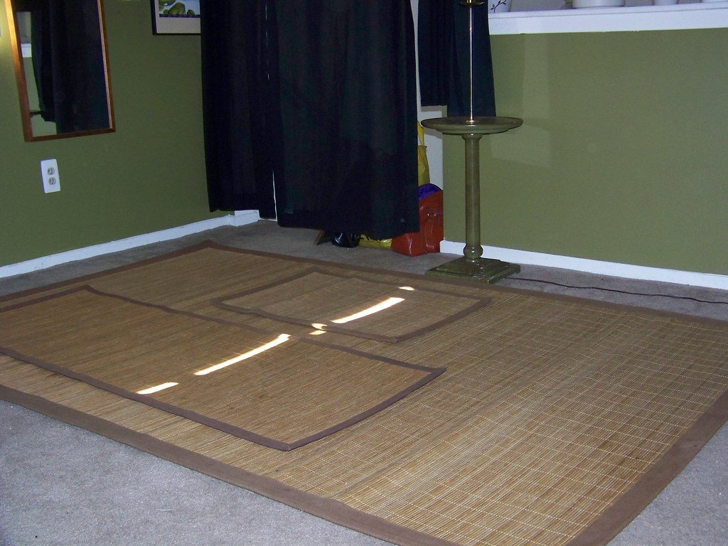 Bamboo Rug SET (Huge) $30