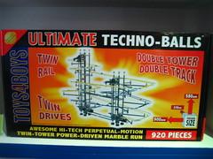 Ultimate techno-balls