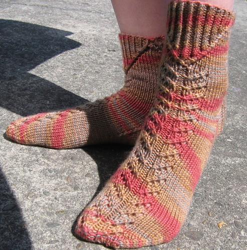socks knitting knit schaefer