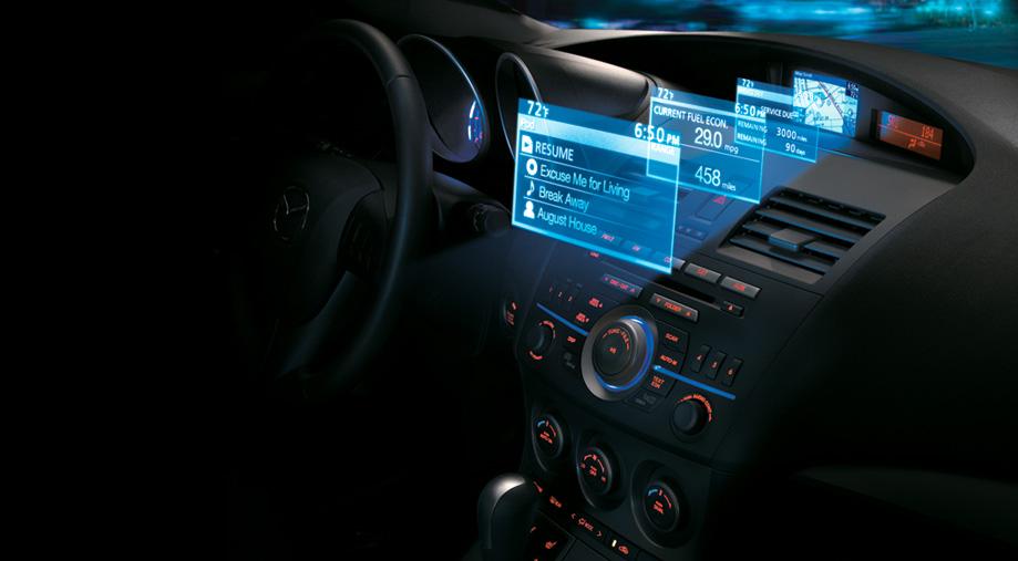 Compact navigation system 2010 MAZDA3