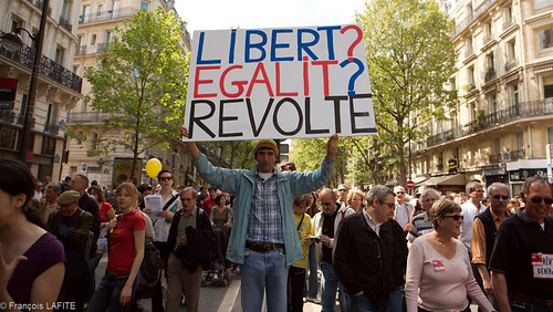 Manifestation du 1er mai 2009 à Paris