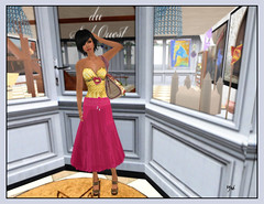 La fashion victim en shopping (Ys Ah) Tags: secondlife tuli shinythings fashionsladdict