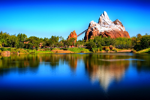 Disney - Expedition Everest HDR - Express Monorail