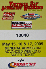 Mosport Speedfest ticket - crop