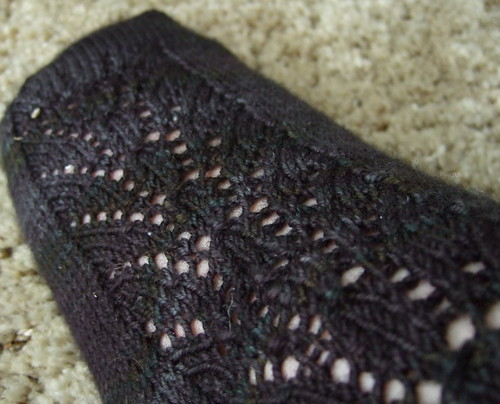 Blackrose Socks - Foot