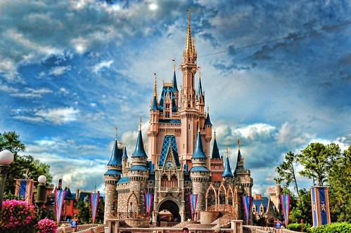 Cinderella's Castle Walt Disney World by wdwdlp