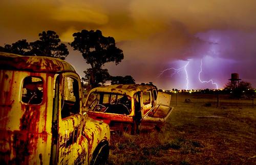 Junk Yard Storm