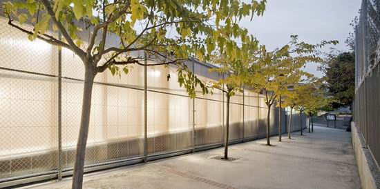 10 Gym 704 - Combining the Minimalist Facade with Line of Trees 10