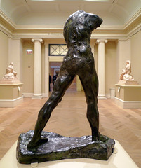 Auguste Rodin, Walking Man (back)