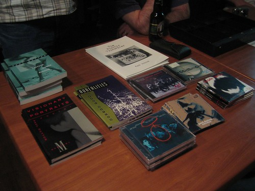 Dutton book and CD signing