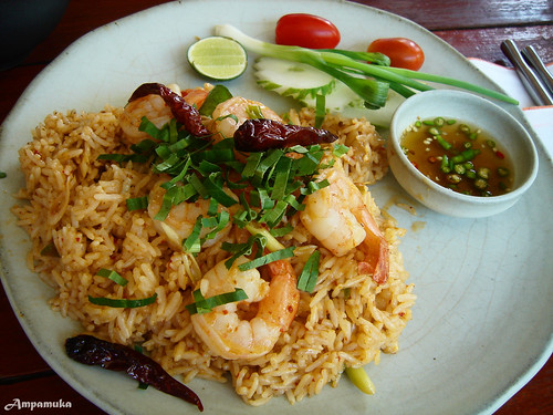 Spicy Thai Fried Rice With Shrimp Shrimp Thai Spicy Fried Rice