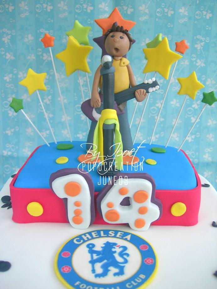 Sing for Chelsea Cake