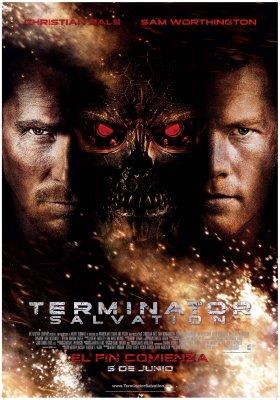 Poster español de Terminator: Salvation