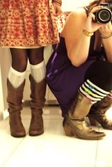 beverly hills cowgirls (Shana Marie) Tags: slshotel beverlyhills losangeles california cowboyboots metallic sparkle dresses girlportrait birthdaycelebration selfportrait steelersbracelet cutesocks washedoutcolor tights fancy women shanakraynak explored