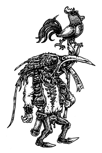 Bird-faced Goblin Git