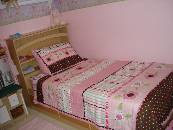 Karli's new bedspread