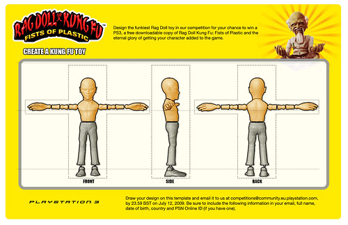 Rag Doll Kung Fu competition template - English