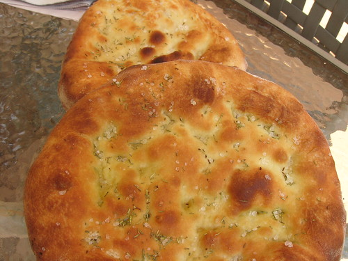 Focaccia on the FIredome