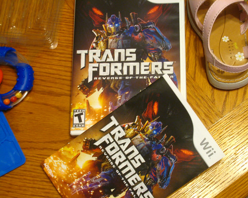 Transformers Revenge of the Fallen Game for Wii
