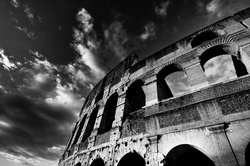coloseo & wide angle