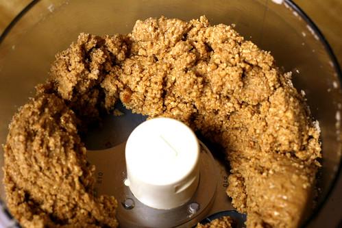 making peanut butter
