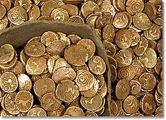 Suffolk iron age gold hoard
