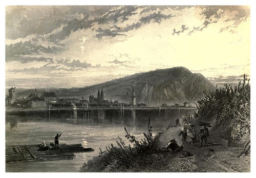 005-Andernach-The Rhine and its picturesque scenery 1856- Foster Myles Birket
