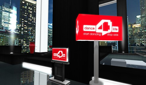 dance4life in second life